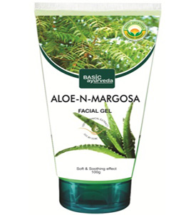 Aloe Margosa Facial Gel