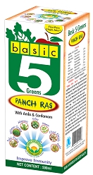 Basic 5 Greens Panch Ras