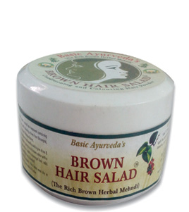 Brown Hair Salad